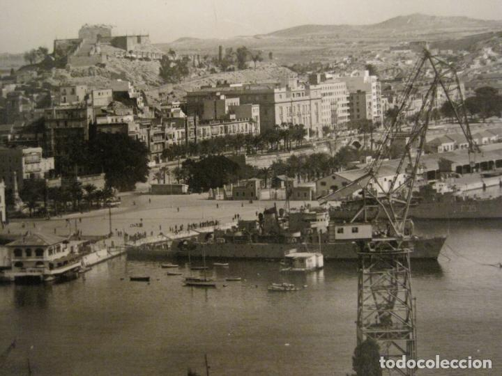 Postales: CARTAGENA-MUELLE Y CLUB DE REGATAS-ED·ARRIBAS-1006-POSTAL ANTIGUA-(68.161) - Foto 2 - 195307401