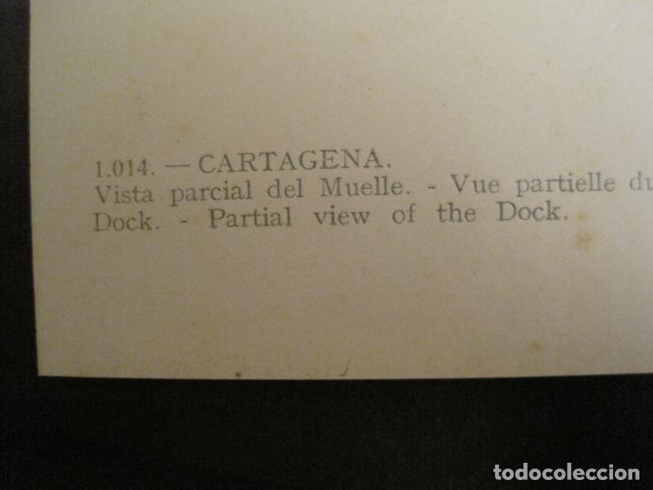 Postales: CARTAGENA-VISTA PARCIAL DEL MUELLE-ED·ARRIBAS-1014-POSTAL ANTIGUA-(68.162) - Foto 4 - 195307498