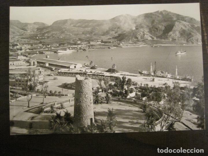 CARTAGENA-VISTA PARCIAL DEL MUELLE-ED·ARRIBAS-1014-POSTAL ANTIGUA-(68.162) (Postales - España - Murcia Antigua (hasta 1.939))