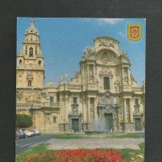 Postales: POSTAL SIN CIRCULAR - MURCIA 172 - CATEDRAL - EDITA ESCUDO DE ORO. Lote 195327162