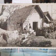 Postales: ANTIGUA POSTAL MURCIA BARRACA HUERTA ESCENAS HUERTANAS. Lote 195449536