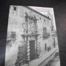 Postales: TARJETA POSTAL DE LORCA MURCIA - CASA PALACIO DE MORENO ROCAFULL - DIARIO DE AVISOS EDIT.. Lote 195466412