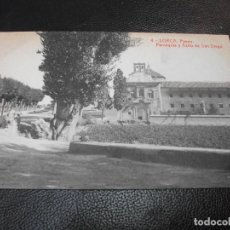 Postales: TARJETA POSTAL DE LORCA MURCIA - PARROQUIA Y ASILO DE SAN DIEGO Nº 4 THOMAS LUIS MONTIEL. Lote 195466997