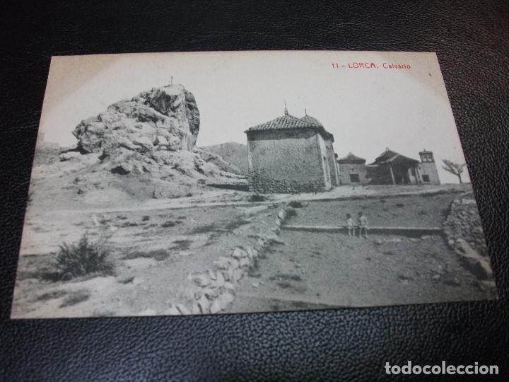 TARJETA POSTAL DE LORCA MURCIA - CALVARIO Nº 11 THOMAS LUIS MONTIEL (Postales - España - Murcia Antigua (hasta 1.939))