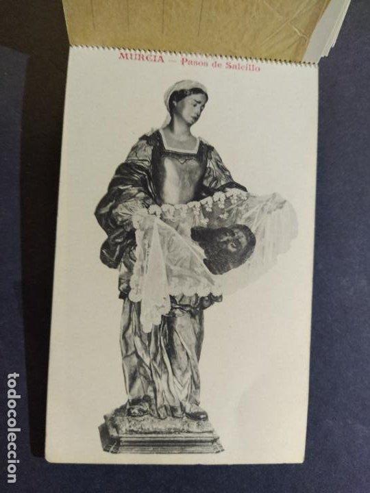 Postales: MURCIA-PASOS DE SALCILLO-BLOC CON 9 POSTALES-SUCESOR DE A.FABERT-VER FOTOS-(68.541) - Foto 14 - 196216147