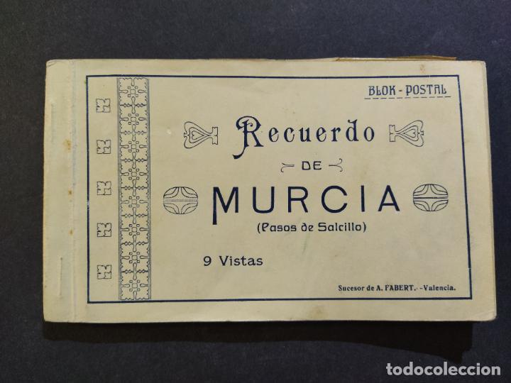 MURCIA-PASOS DE SALCILLO-BLOC CON 9 POSTALES-SUCESOR DE A.FABERT-VER FOTOS-(68.541) (Postales - España - Murcia Antigua (hasta 1.939))