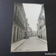Postales: JUMILLA MURCIA CALLE MAYOR POSTAL FOTOGRAFICA BAÑOS FOTOGRAFO. Lote 196498238