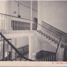 Postales: BALNEARIO DE FORTUNA (MURCIA) - GRAN HOTEL - ESCALERA PRINCIPAL. Lote 197076172