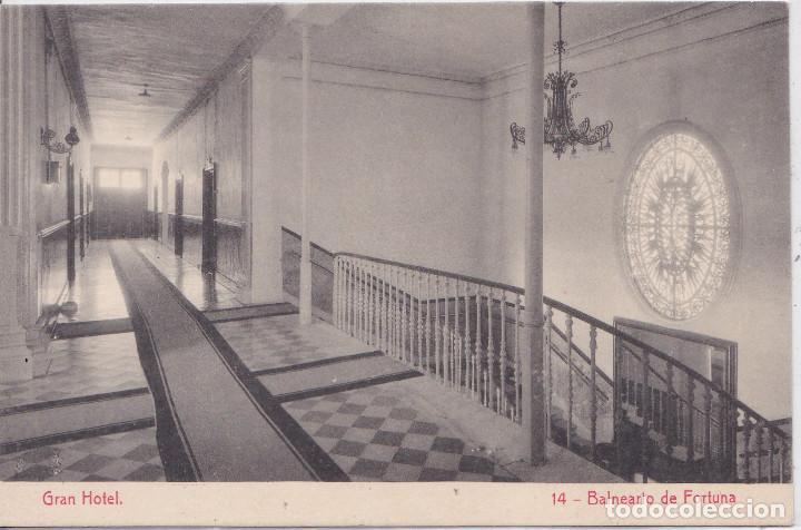 BALNEARIO DE FORTUNA (MURCIA) - GRAN HOTEL - PASILLO EN PLANTA (Postales - España - Murcia Moderna (desde 1.940))