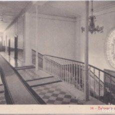 Postales: BALNEARIO DE FORTUNA (MURCIA) - GRAN HOTEL - PASILLO EN PLANTA. Lote 197076265