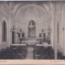 Postales: BALNEARIO DE FORTUNA (MURCIA) - TEMPLO DEL BALNEARIO. Lote 197076376