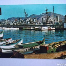 Postales: POSTAL 31 CARTAGENA MURCIA DARSENA DE BOTES SUBIRATS. Lote 197153047
