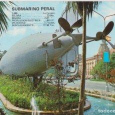 Cartoline: CARTAGENA (MURCIA) SUBMARINO PERAL - FOTO EDICION CATALAN IBARZ 3801 - S/C. Lote 197373440