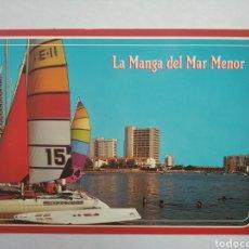 Postales: POSTAL 58 LA MANGA DEL MAR MENOR MURCIA VISTA PARCIAL ED ARRIBAS. Lote 197677488