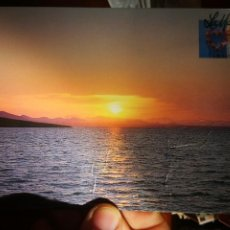 Cartes Postales: POSTAL LA MANGA ATARDECER SOBRE EL MAR MENOR MURCIA N 11 JUAN CASTELLS PELÍN ARRUGADA. Lote 197964130