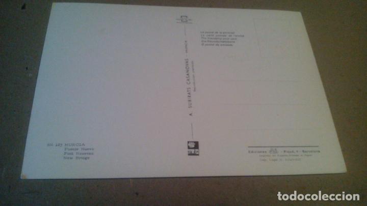 Postales: MURCIA - PUENTE NUEVO - AÑOS 70,80 - Foto 2 - 212363557