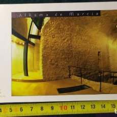 Postales: ALHAMA DE MURCIA SALAS ROMANAS DEL CENTRO ARQUEOLOGICO. Lote 198345127