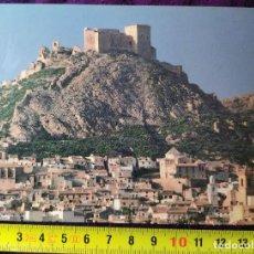 Cartes Postales: POSTAL VISTA DEL CASTILLO DE LOS VELEZ EN MULA MURCIA. Lote 198378565