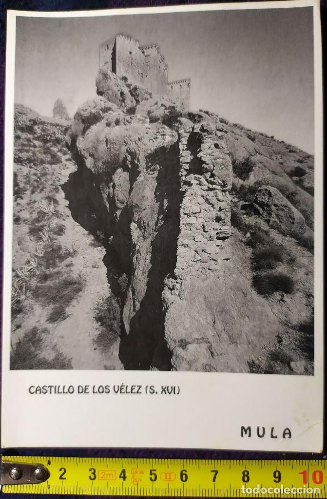 POSTAL CASTILLO DE LOS VELEZ MULA (Postales - España - Murcia Moderna (desde 1.940))