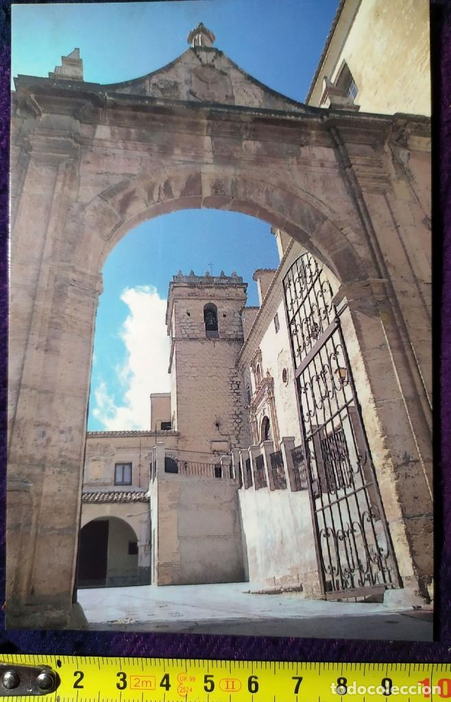 POSTAL REAL MONASTERIO DE LA ENCARNACION EN MULA (Postales - España - Murcia Moderna (desde 1.940))