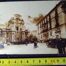Postales: POSTAL ANTIGUA CATEDRAL DE MURCIA FINALES DEL SIGLO XIX MURCIA 01. Lote 198379197