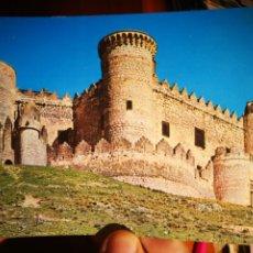 Postales: POSTAL CASTILLO DE BELMONTE CUENCA N 7 VISTA ELLA S/C. Lote 198658811