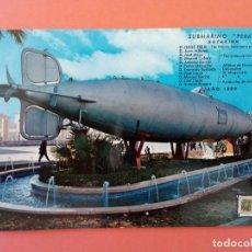 Postales: POSTAL CARTAGENA SUBMARINO PERAL . Lote 199322963