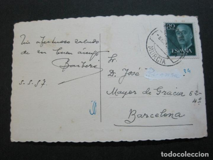 Postales: MURCIA-VISTA PARCIAL-ED·ARRIBAS-54-FOTOGRAFICA-POSTAL ANTIGUA-(69.724) - Foto 3 - 203834122