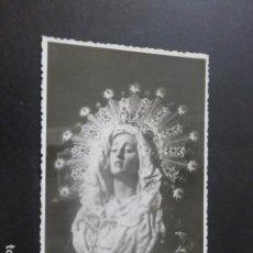 Postales: CARTAGENA MURCIA SEMANA SANTA VIRGEN DE LA AMARGURA CASAÚ FOTOGRAFO. Lote 205014947