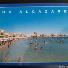 Postales: POSTAL DE LOS ALCÁZARES. PLAYA.. Lote 205291485