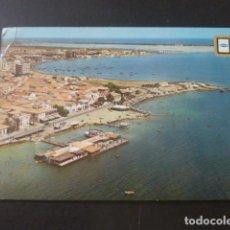 Postales: LO PAGAN MURCIA VISTA AEREA. Lote 205370380