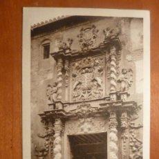 Postales: LORCA CASA DE MORENO DE ROCAFULL POSTAL ORIGINAL ANTIGUA SIN CIRCULAR. Lote 205379110