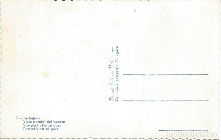 Postales: CARTAGENA. VISTA PARCIAL DEL PUERTO.EDIC. DARVI Nº 5 - Foto 2 - 205601943