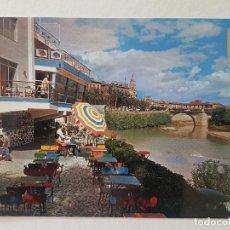 Postales: MURCIA CLUB DE REMO Y PUENTE VIEJO POSTAL. Lote 205806116