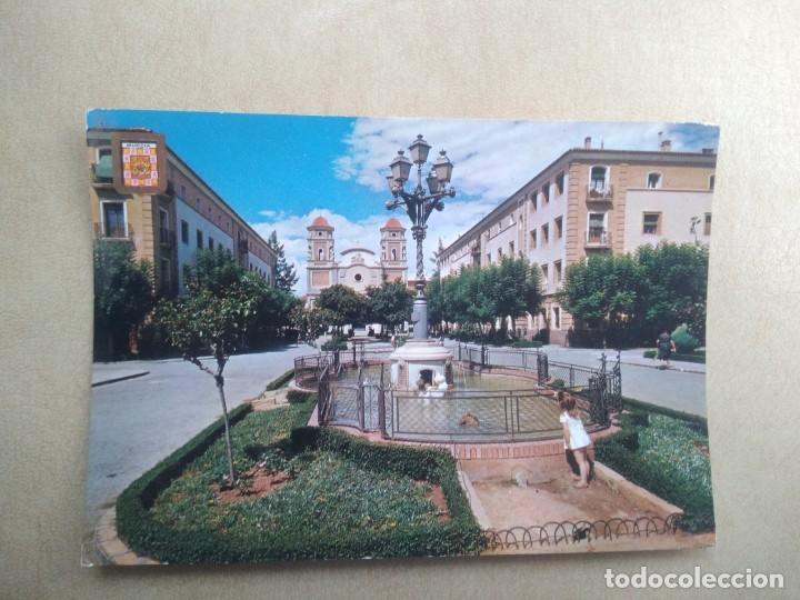 POSTAL MURCIA, VISTABELLA, PLAZA CENTRAL (Postales - España - Murcia Moderna (desde 1.940))