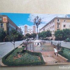 Postales: POSTAL MURCIA, VISTABELLA, PLAZA CENTRAL. Lote 205899405