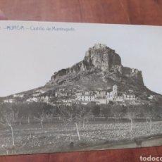 Postales: MURCIA CASTILLO DE MONTEAGUDO.. Lote 206151121
