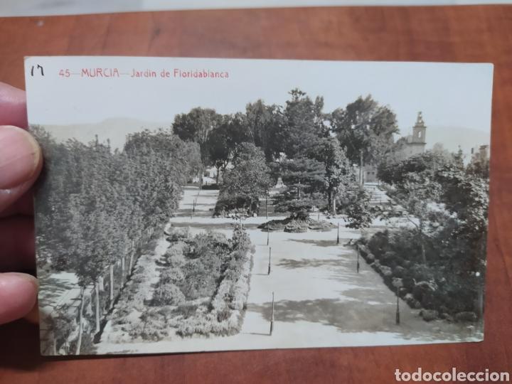 MURCIA JARDÍN DE FLORIDABLANCA. (Postales - España - Murcia Antigua (hasta 1.939))