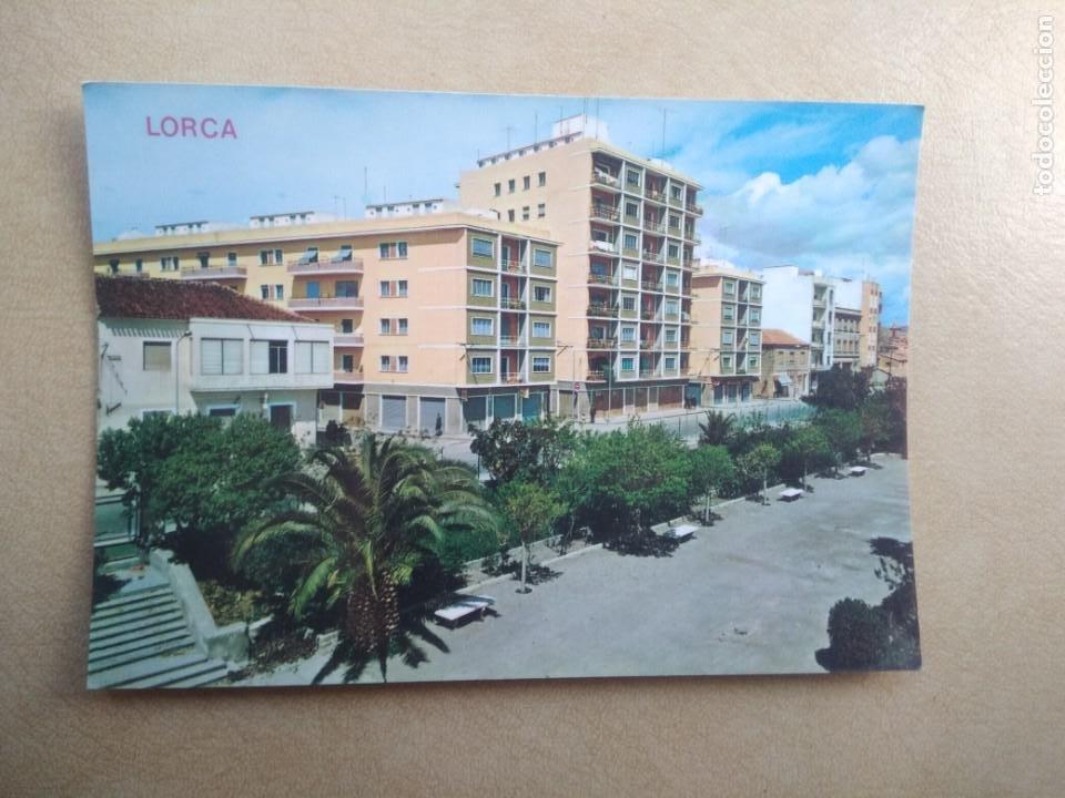 POSTAL LORCA, GRUPO SANTA FE, VISTA PARCIAL (Postales - España - Murcia Moderna (desde 1.940))