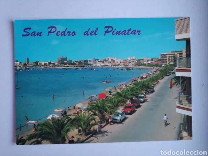 POSTAL 23 MURCIA SAN PEDRO DEL PINATAR MAR MENOR PLAYA DE LO PAGAN AÑO 1988 ED ARRIBAS (Postales - España - Murcia Moderna (desde 1.940))