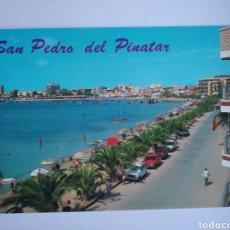Postales: POSTAL 23 MURCIA SAN PEDRO DEL PINATAR MAR MENOR PLAYA DE LO PAGAN AÑO 1988 ED ARRIBAS. Lote 206347018