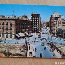 Postales: TARJETA POSTAL - MURCIA - HOTEL REINA VICTORIA Y GRAN VIA JOSE ANTONIO. Lote 206355690