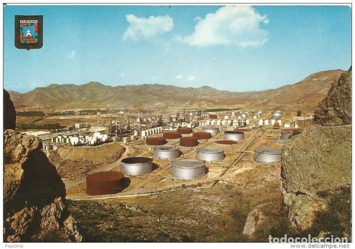 == C515 - POSTAL - CARTAGENA - DEPOSITOS DE LA REFINERIA (Postales - España - Murcia Moderna (desde 1.940))