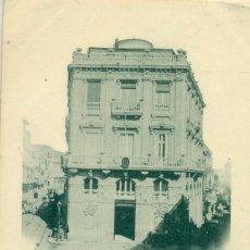 Postales: CARTAGENA BANCO DE ESPAÑA CIRCULADA EN 1902 S.C.E.HISPANIA Nº 186. CARTOFILIA. Lote 207034472