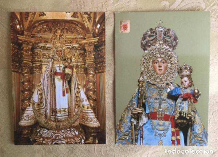 2 POSTALES DE NUESTRA SEÑORA DE LA FUENSANTA , MURCIA AÑOS 70 (Postales - España - Murcia Moderna (desde 1.940))