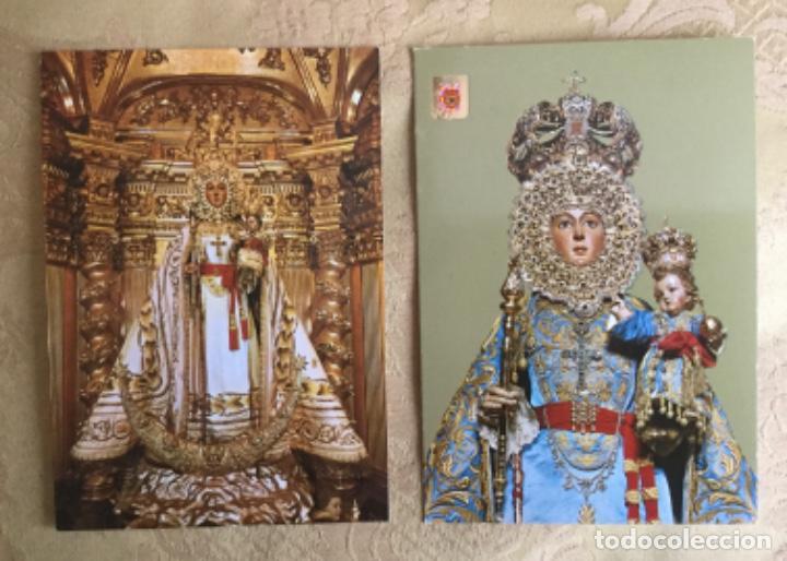 Postales: 2 POSTALES DE NUESTRA SEÑORA DE LA FUENSANTA , MURCIA AÑOS 70 - Foto 2 - 207091950