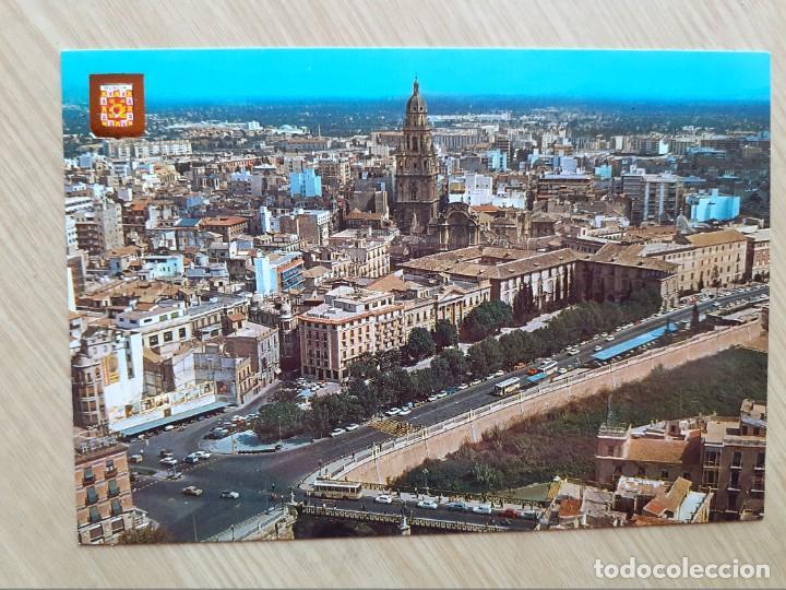 TARJETA POSTAL - MURCIA - VISTA AEREA ? 133 (Postales - España - Murcia Moderna (desde 1.940))