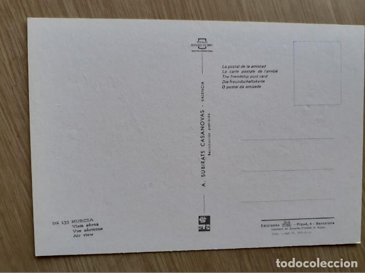 Postales: TARJETA POSTAL - MURCIA - VISTA AEREA ? 133 - Foto 2 - 207097511