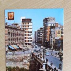 Postales: TARJETA POSTAL - MURCIA - PUENTE VIEJO Y AVENIDA JOSE ANTONIO № 37. Lote 207097645