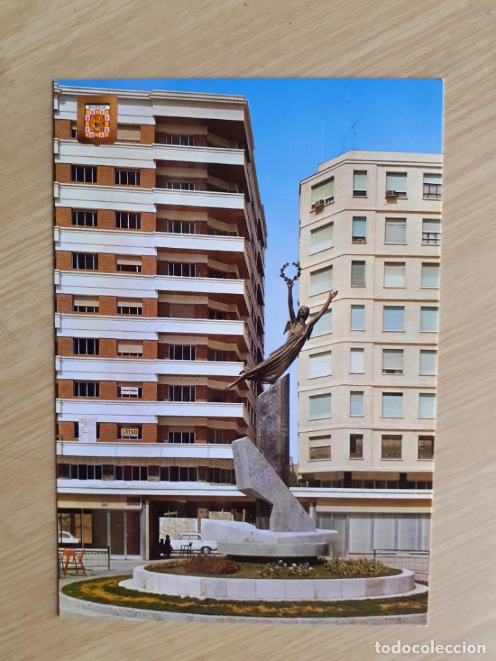 TARJETA POSTAL - MURCIA - PLAZA DE SANTA ISABEL № 144 (Postales - España - Murcia Moderna (desde 1.940))